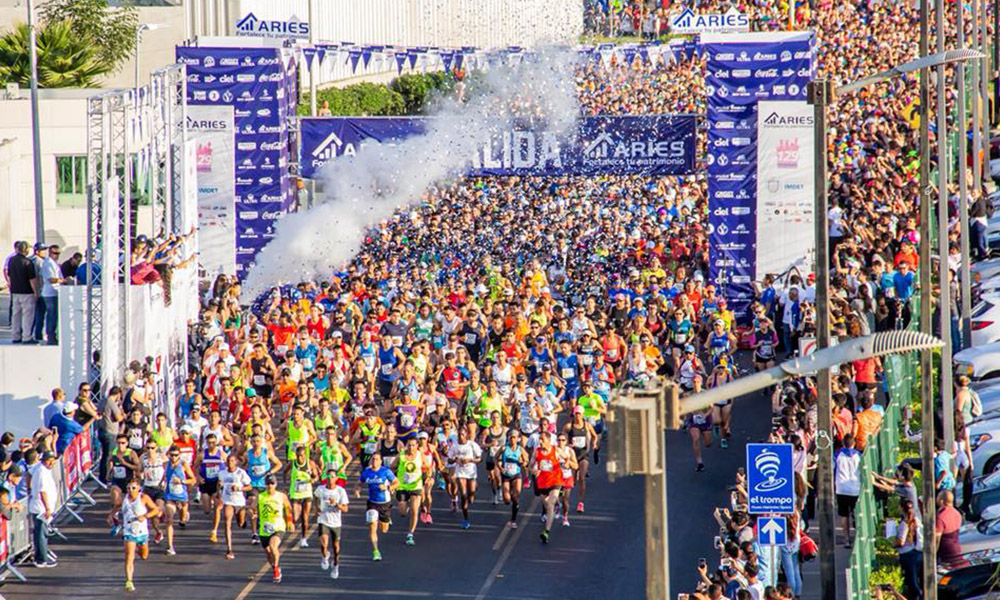 Realizan Medio Maratón Internacional en Tijuana 2018