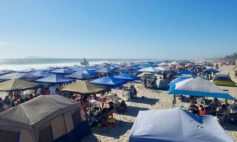 Reportan saldo blanco tras el fin de semana en Playas de Rosarito