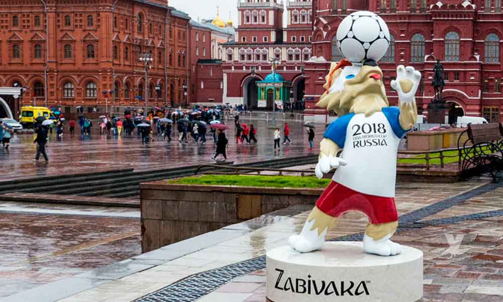 Finaliza el mundial en Rusia y roban estatua valorada en casi 22 mil dólares