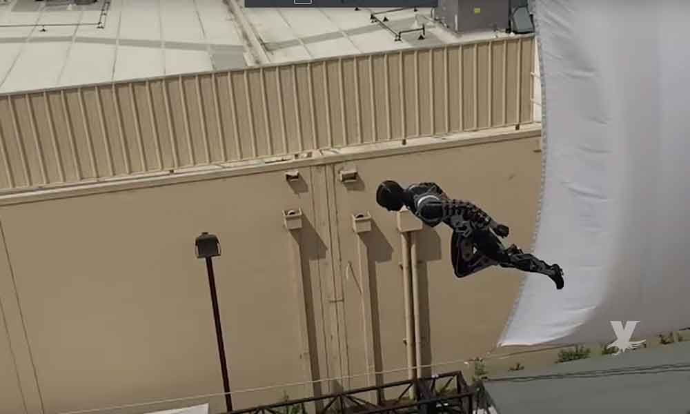 (VIDEO) Disney fabrica robots humanoides para realizar escenas de acción