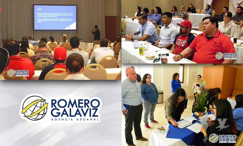 Realiza Romero Galaviz, exitoso taller de actualización en Materia Aduanera y Comercio Exterior en Tecate