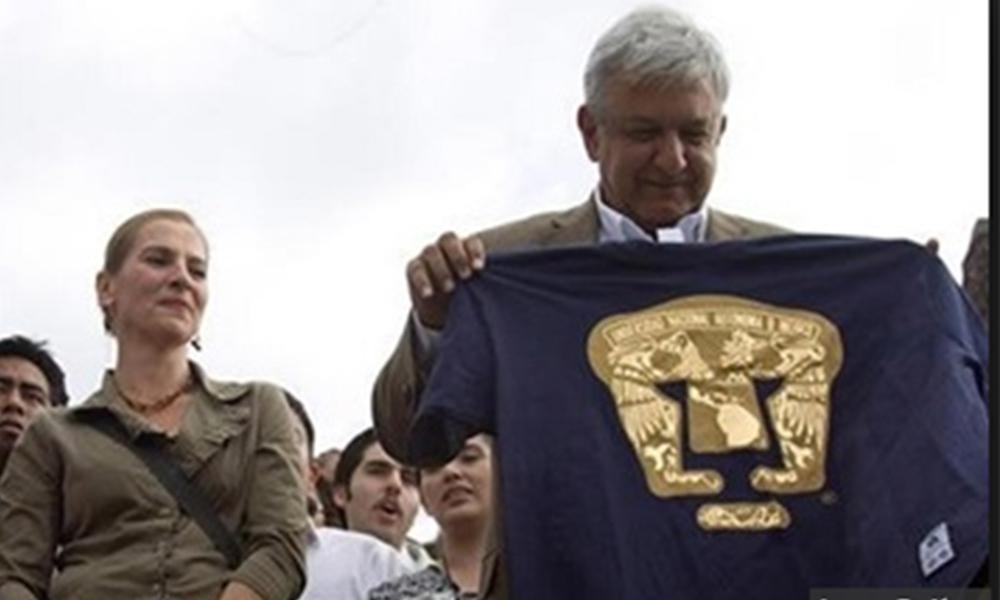 Será López Obrador primer Presidente egresado de la Facultad de Ciencias Políticas de la Universidad Nacional Autónoma de México (UNAM).