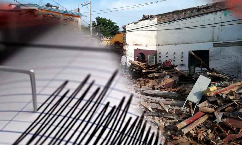 Oaxaca despierta con sismo de magnitud 5.9, en CDMX se activaron las alertas