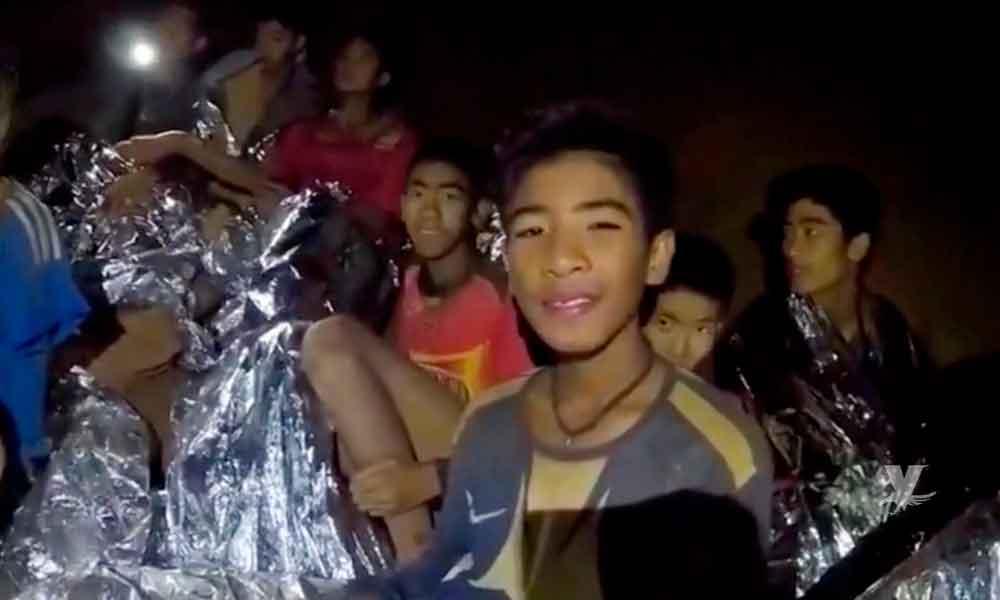 FIFA invita a niños rescatados tailandeses a la final del Mundial