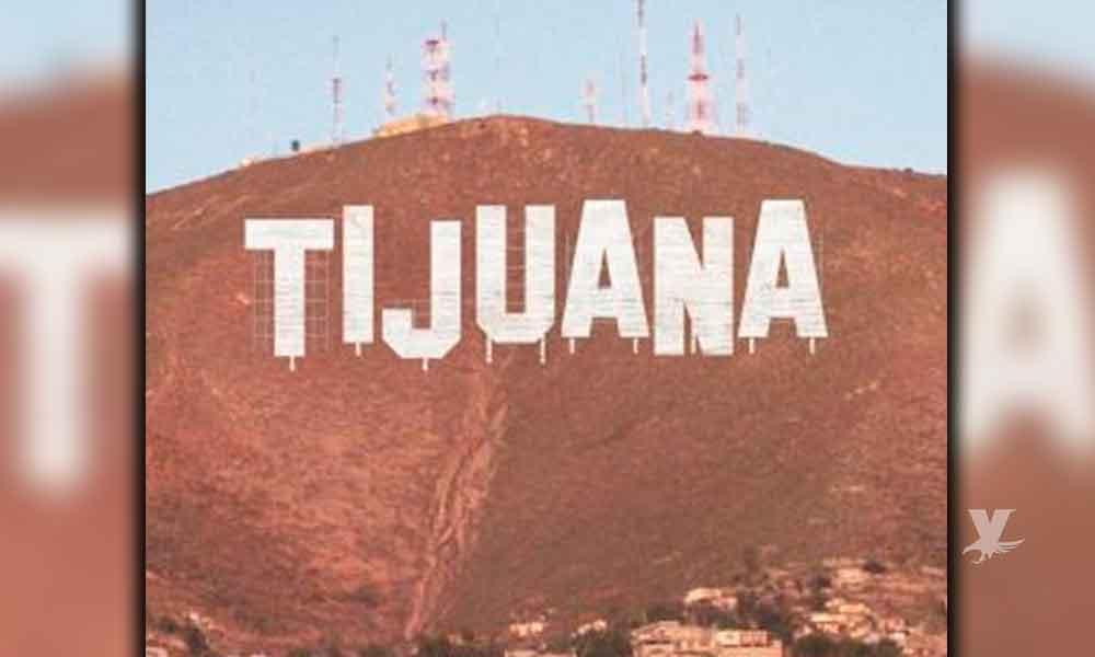 Confirman letras gigantes de Tijuana al estilo de Hollywood para Cerro Colorado