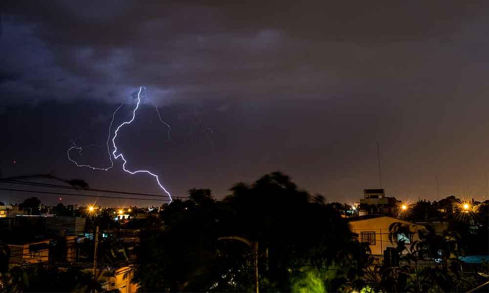 Pronostican tormentas eléctricas para Baja California este próximo miércoles por la tarde