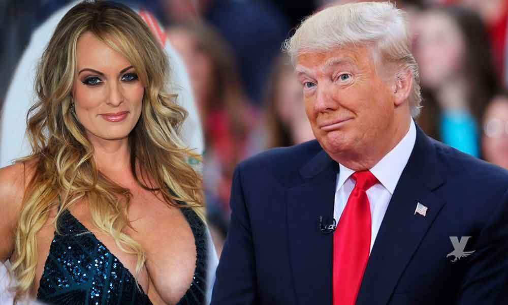 (VIDEO) Donald Trump supuestamente mandó arrestar a su ex amante Stormy Daniels durante un show de striptease