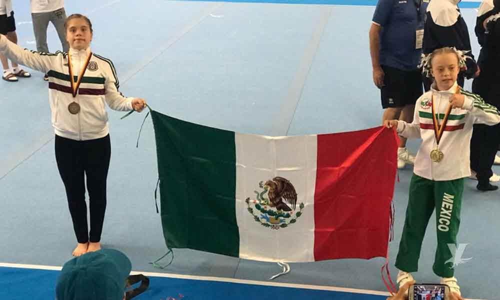 Bibi, la joven mexicana con Síndrome de Down que ganó medalla de oro en Alemania