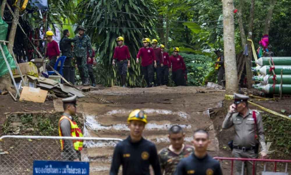 Rescatan a 6 niños de cueva en Tailandia; se elevan las esperanzas