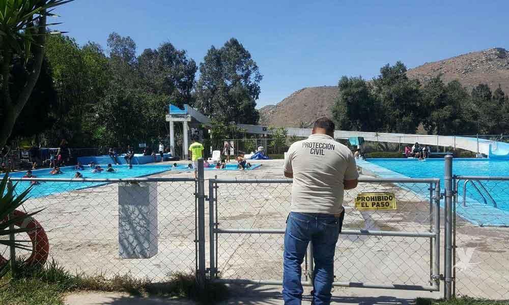Por seguridad, Protección Civil supervisa albercas y balnearios del estado