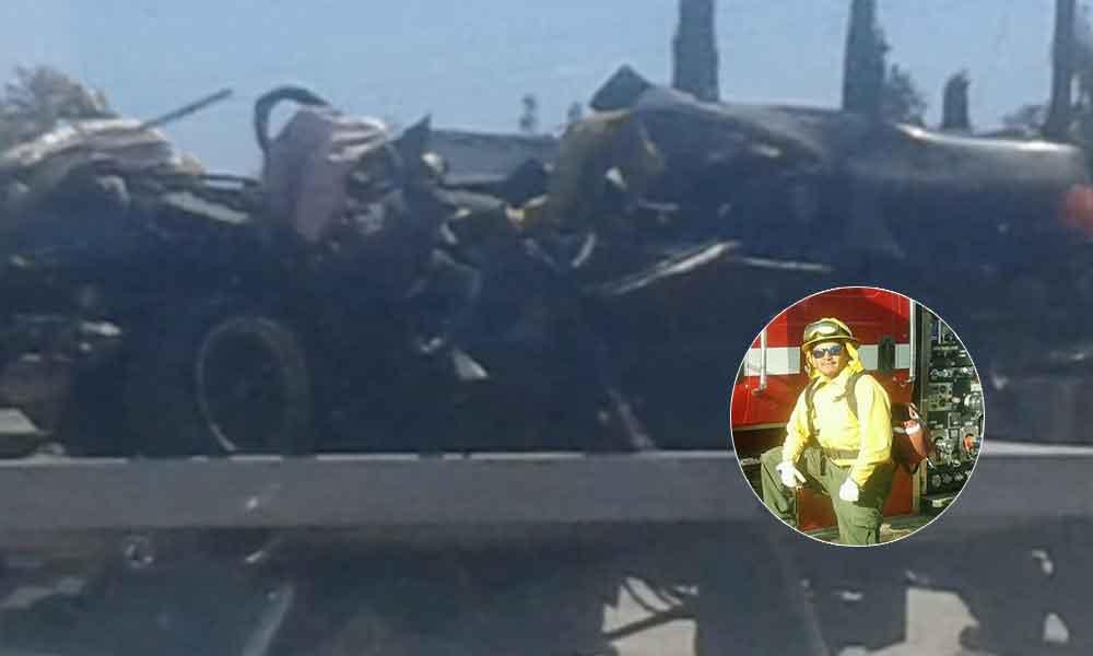 Bombero forestal pierde la vida en trágico accidente en carretera El Hongo-Tecate