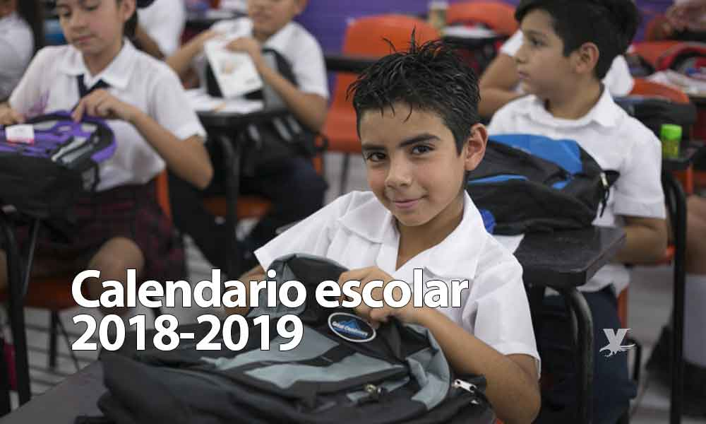¡Vacaciones, días festivos y puentes! Presenta SEP Calendario Escolar 2018-2019