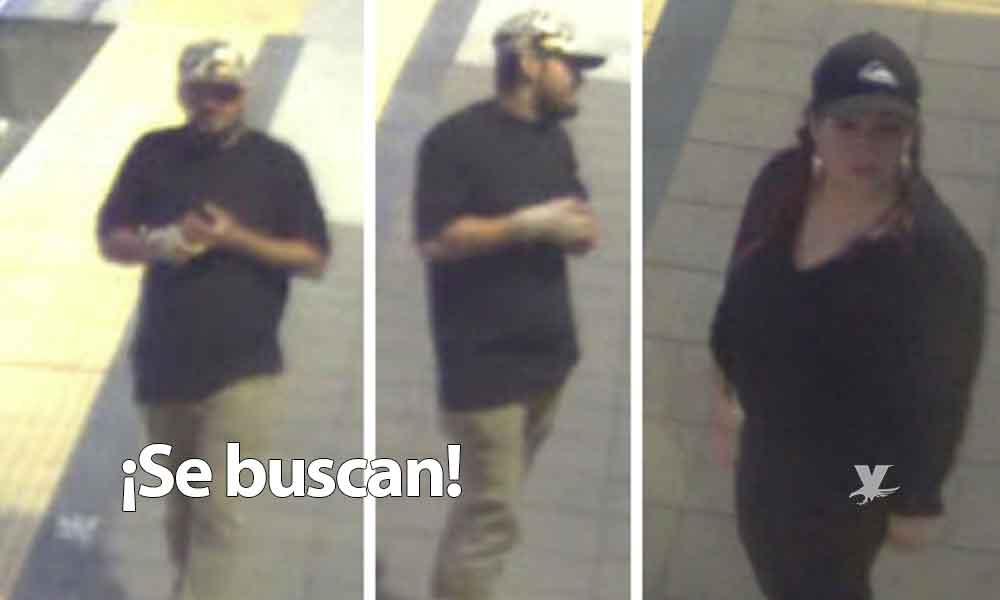 Piden apoyo para localizar a pareja de asaltantes de estación de tranvía en San Diego