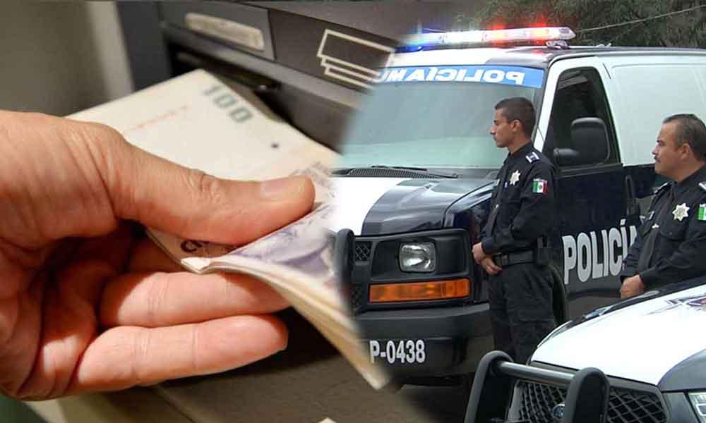 """Utiliza """"Cuentahabiente seguro""""; policías te acompañan al banco"""
