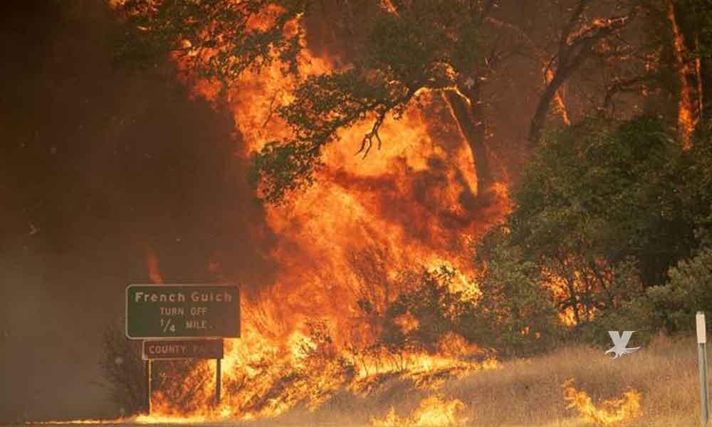 Infernal fuego en California quema cerca de 32 mil hectáreas