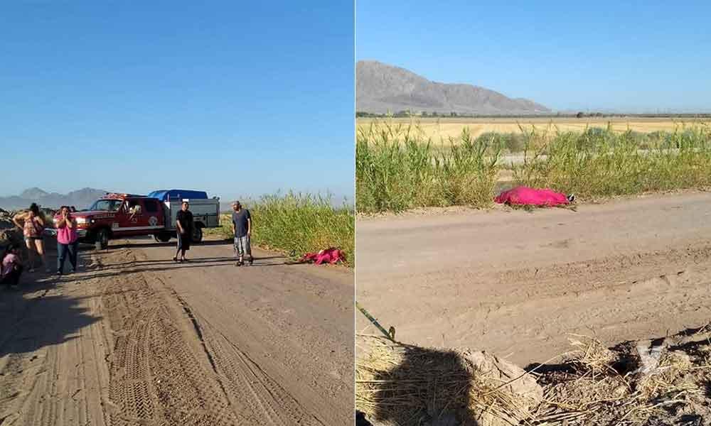 ¡Tragedia! Joven muere al caer accidentalmente en canal de Mexicali