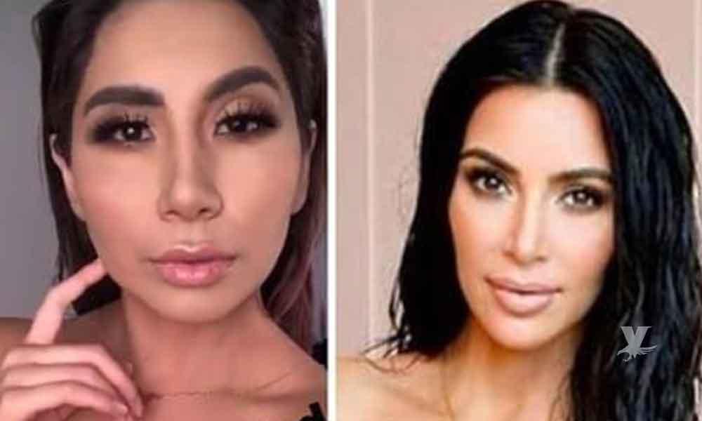 (VIDEO) La Bebeshita asegura que por este video es la gemela de Kim Kardashian