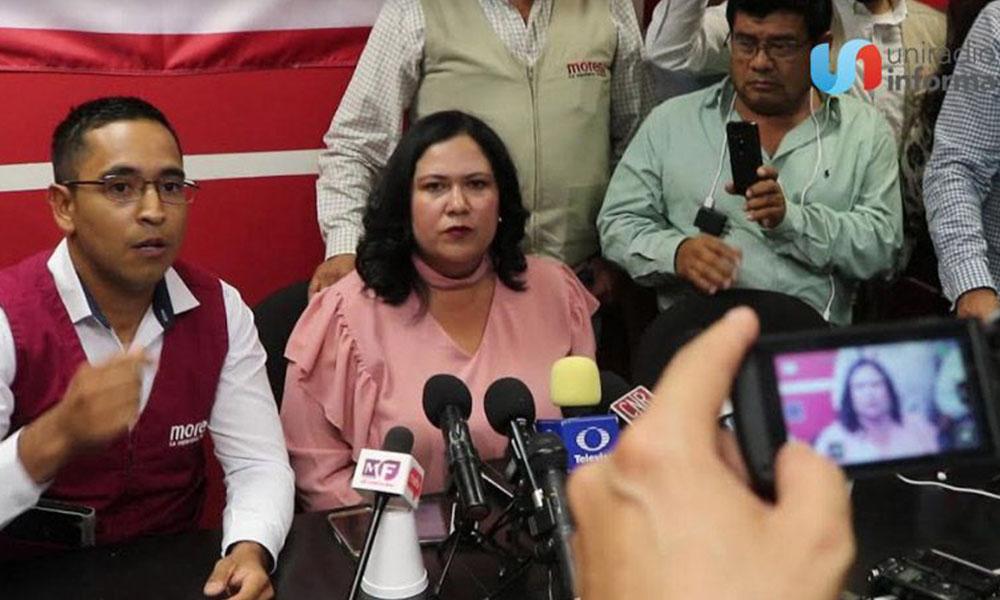 """Senadora""""Lady champaña"""" enfrentará expulsión de Morena debido a escandaloso video"""