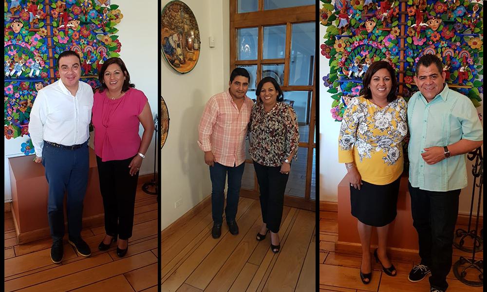 Alcaldesa Nereida Fuentes se reúne con Diputados Federales electos