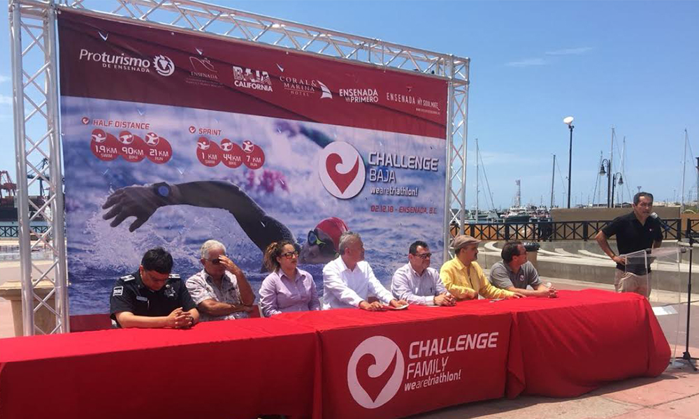 """Impulsan triatlón """"Baja Challenge"""" de talla mundial en Ensenada"""