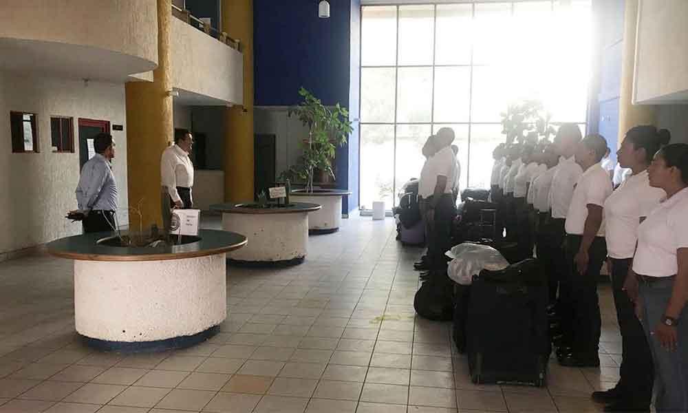 171 nuevos cadetes se internarán 6 meses para prepararse como Policía Ministerial y Policía Municipal en Baja California