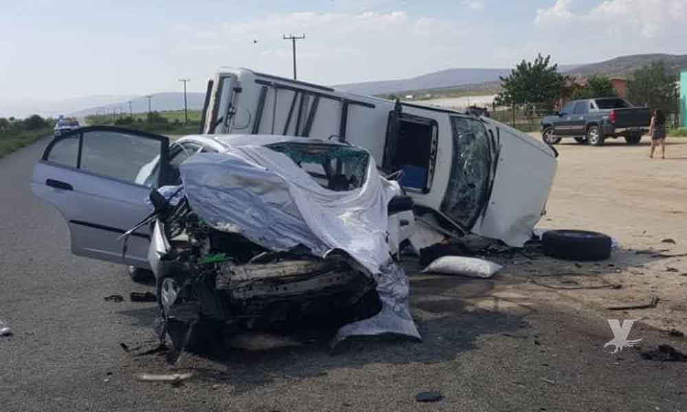 Terrible accidente en carretera Ensenada-San Felipe deja 5 personas muertas, dos tenían menos de 1 año