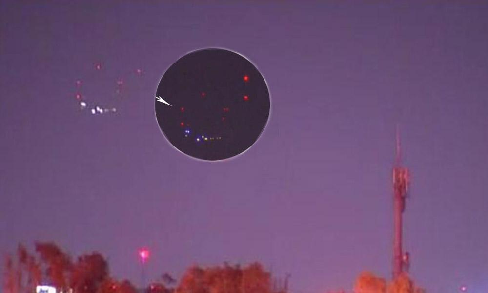 Reportan misteriosas luces en el cielo residentes de San Diego