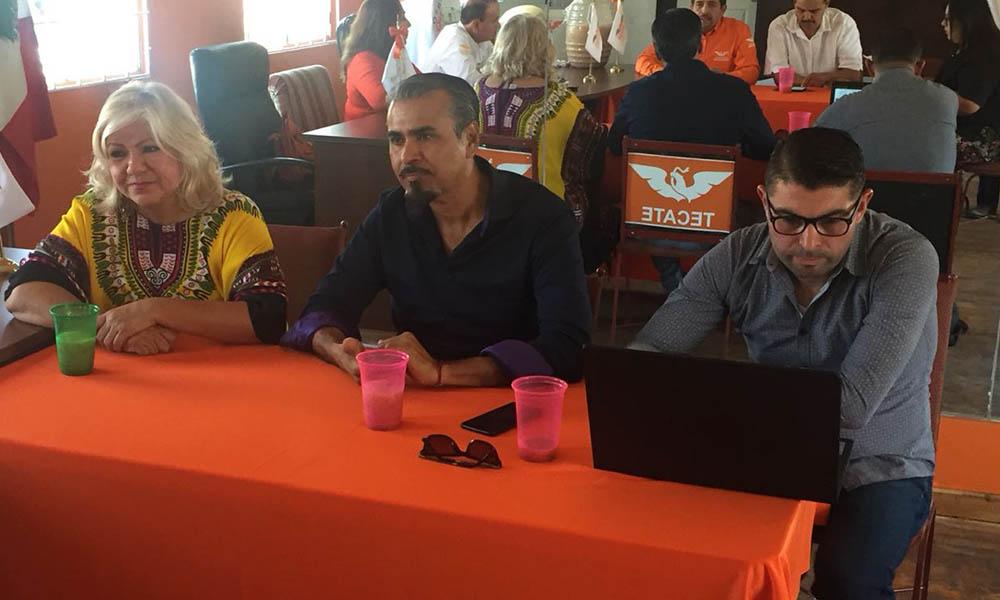 Analiza Movimiento Ciudadano temas de importancia en reunión celebrada en Tecate