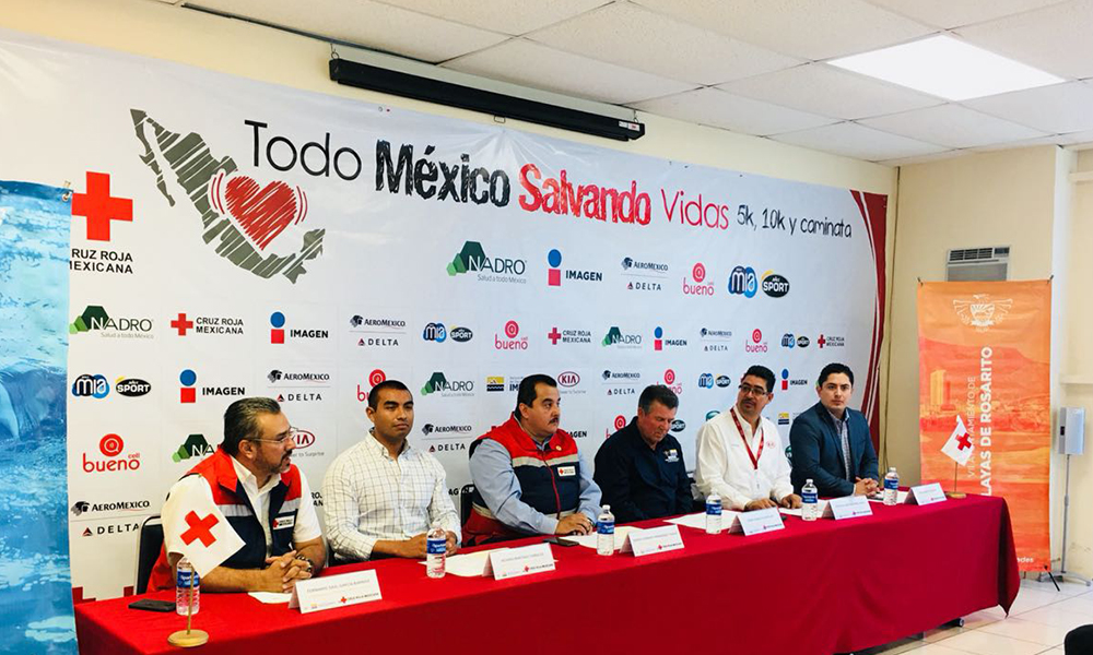 """Anuncian 2da edición de la carrera atlética """"Todo México salvando vidas"""" en Playas de Rosarito"""