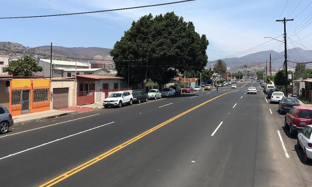 Anuncian cumplimiento de obras de rehabilitación y pavimentación de vialidades en Ensenada