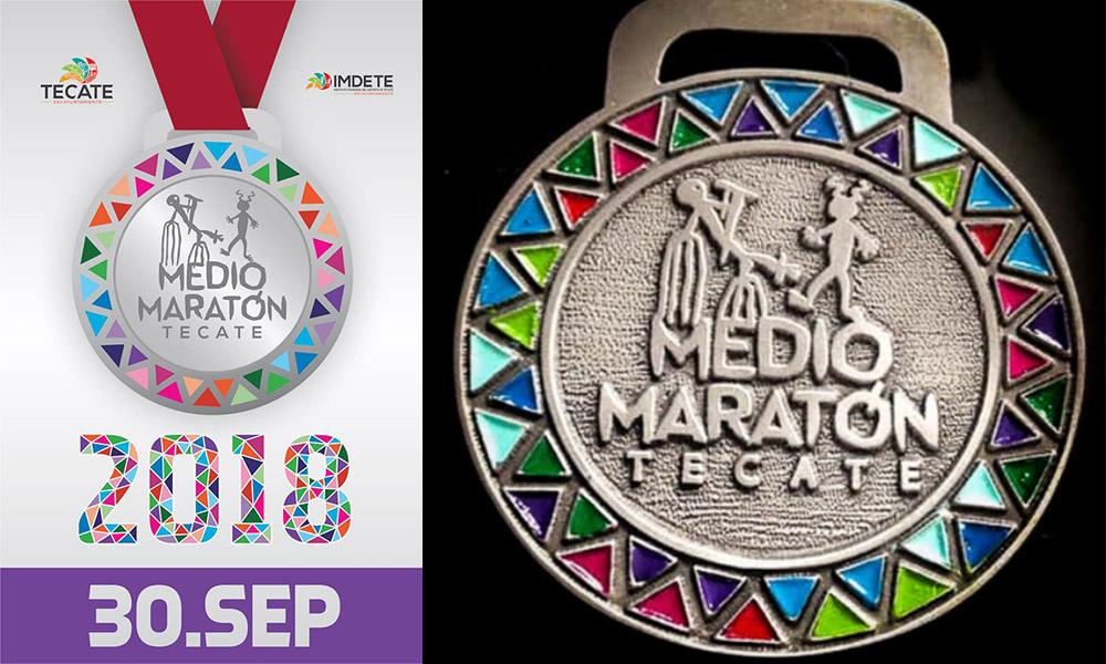 Anuncian abiertas las inscripciones para el Medio Maratón en Tecate 2018