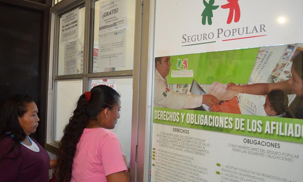 Anuncian reubicación del módulo del Seguro Popular en Tijuana