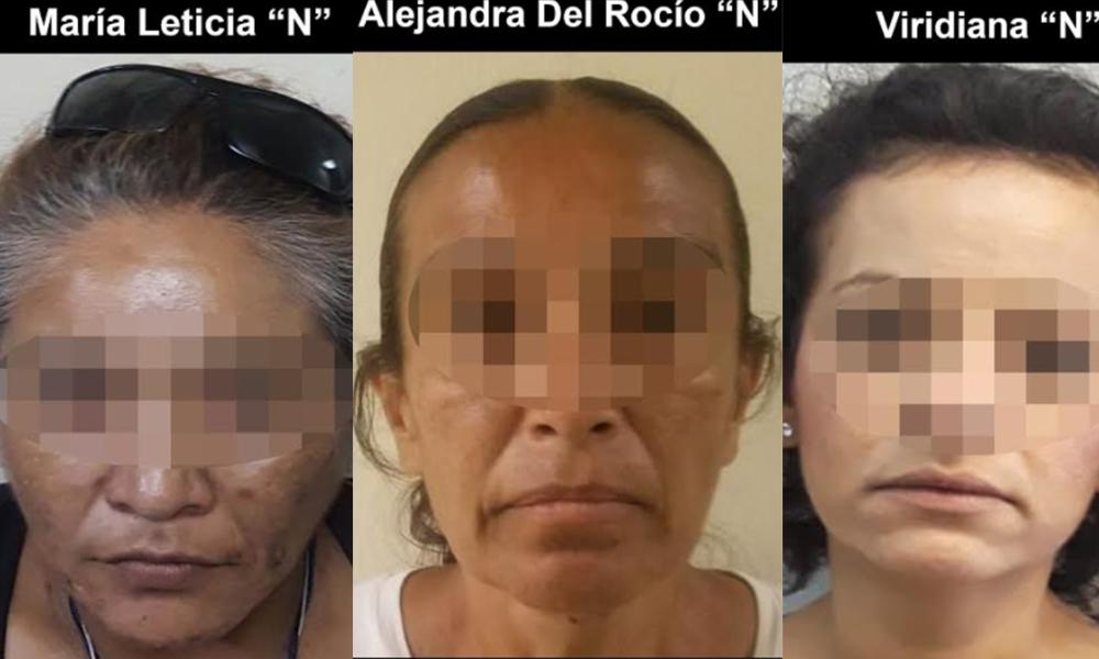 Apresan a tres mujeres narcomenudistas en Tijuana