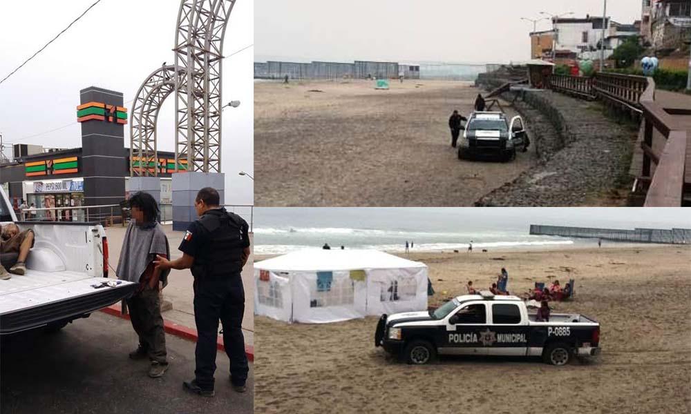 Arrestan a 13 sujetos tras operativo permanente en Playas de Tijuana