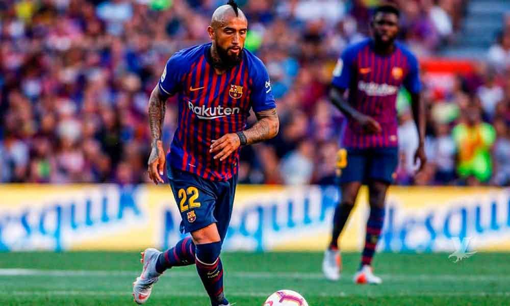 Arturo Vidal manda fuerte mensaje al Real Madrid y se gana a la afición del Barcelona