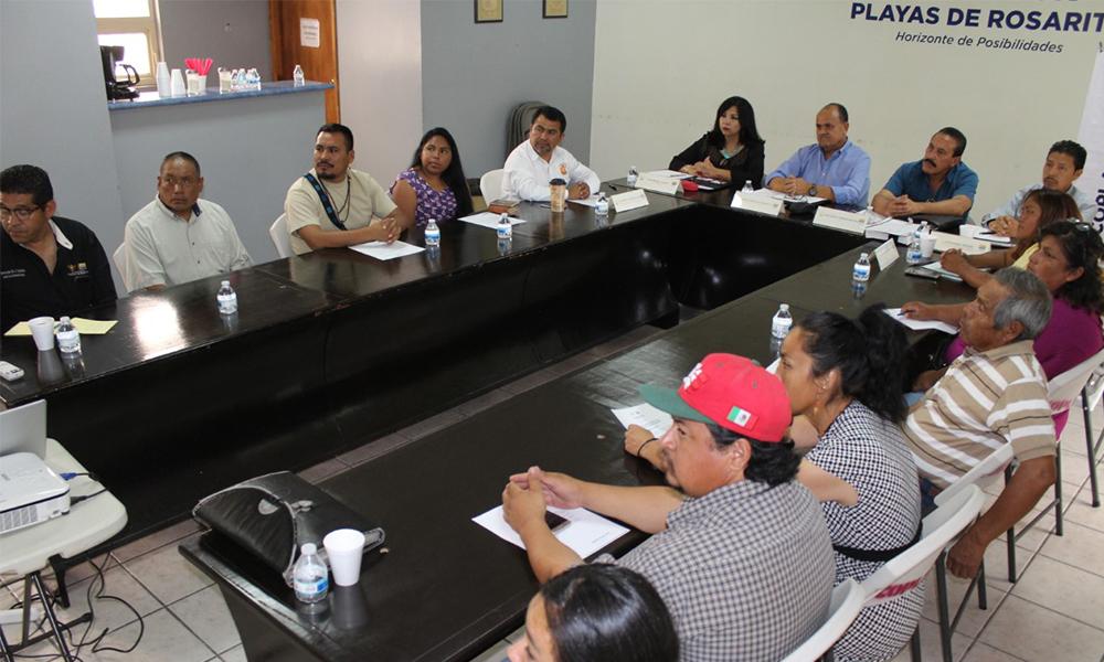 Asesoran a grupos indígenas para constituirse como Asociaciones Civiles en Playas de Rosarito