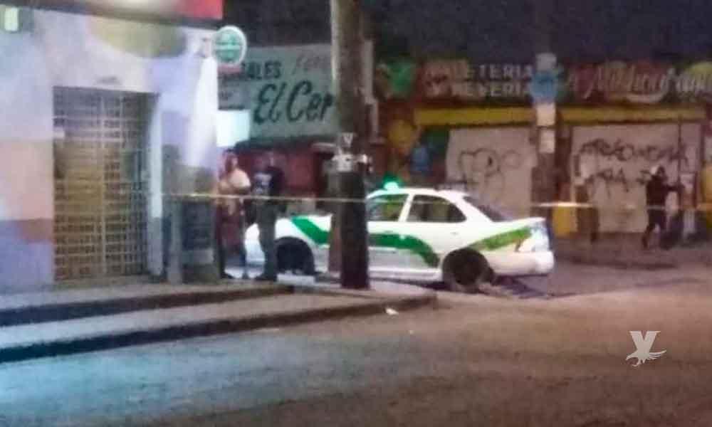 Taxista muerto y tres pasajeros heridos en ataque armado en Tijuana