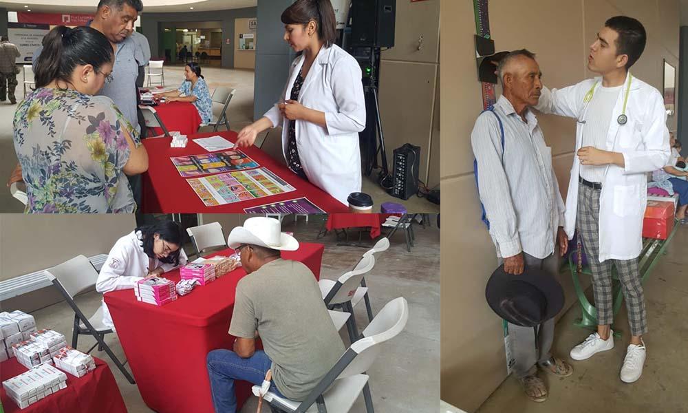 Atienden 149 personas en la 3ra. Jornada de Salud del Adulto Mayor en Ensenada