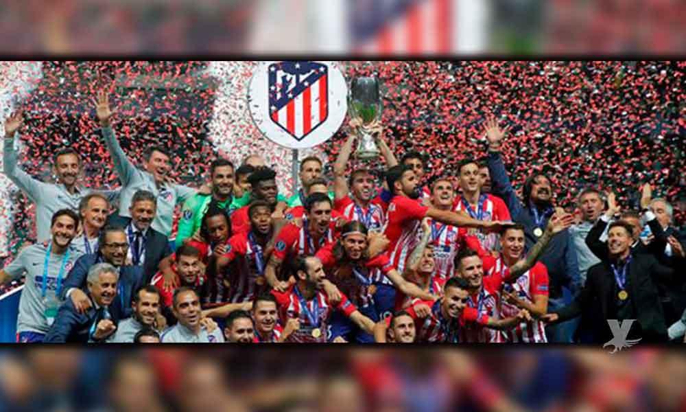 ¡Campeón! Atlético de Madrid vence al Real Madrid en la Supercopa de Europa