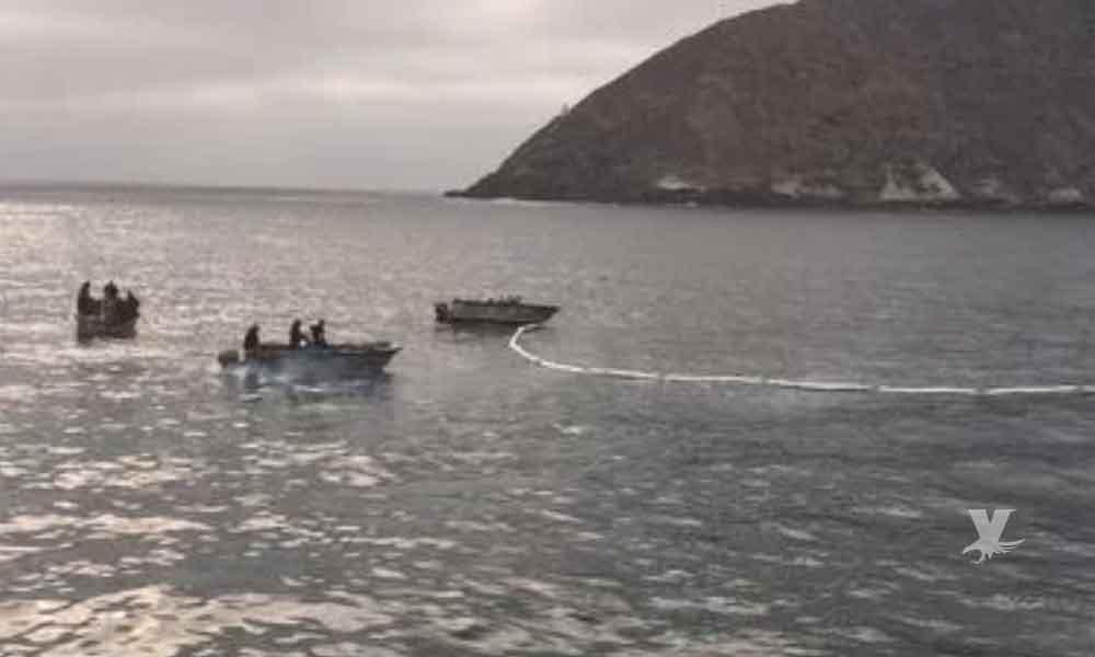 Se hunde embarcación sardinera en Isla Coronado, frente a costas de Tijuana