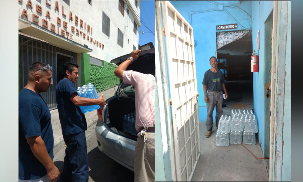 Brindan atención a migrantes y a personas en situación de calle por altas temperaturas en Tijuana