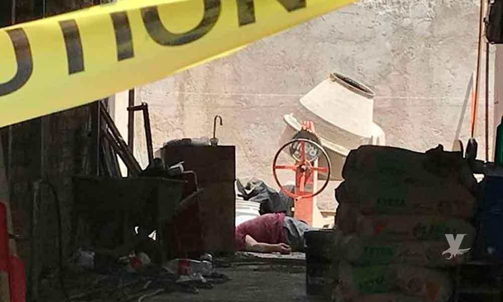 Trabajador pierde la vida al caer de segundo piso en Mexicali