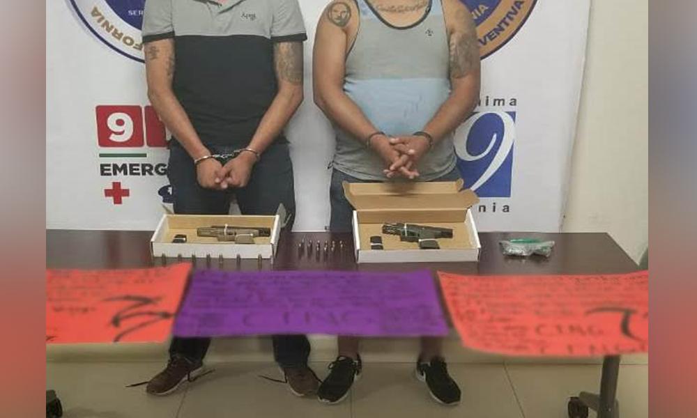 Capturan en Tijuana a presuntos sicarios del CNJG; con armas, droga y narcomensajes