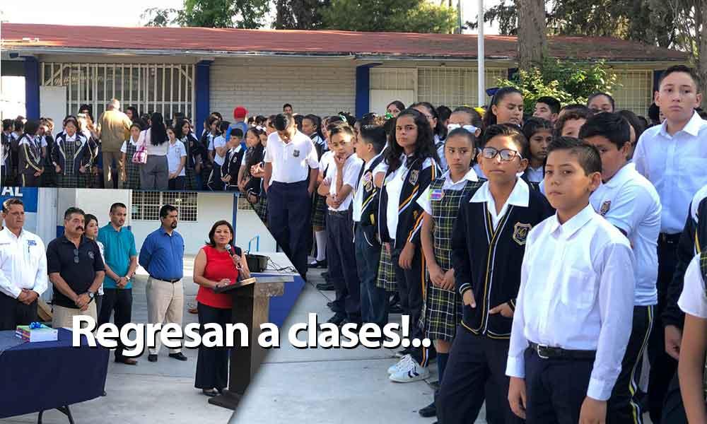 Más de 21 mil alumnas y alumnos de educación básica arrancaron el Ciclo Escolar en Tecate