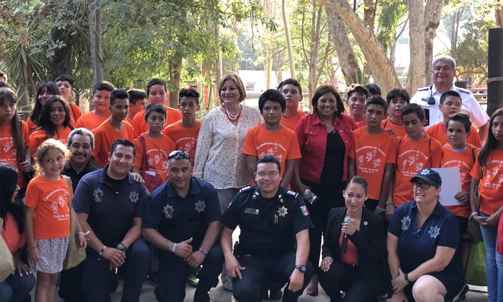 Concluye curso de verano de la Policía Juvenil en Tecate