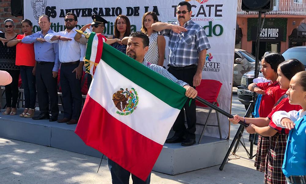 Conmemoran 65 Aniversario de la Promulgación de la Constitución Política del Estado de Baja California