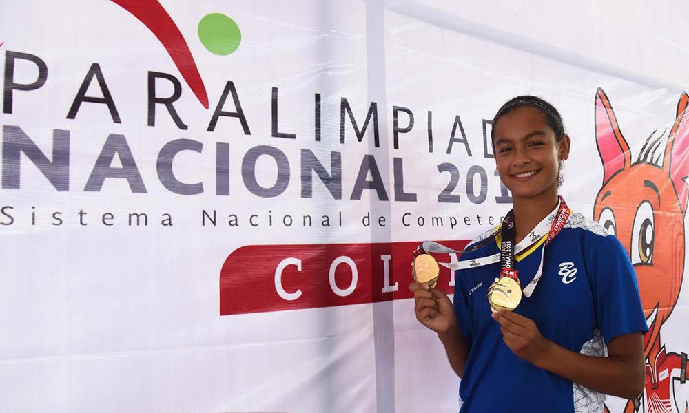 Conquista Baja California 10 medallas en la Paralimpiada Nacional