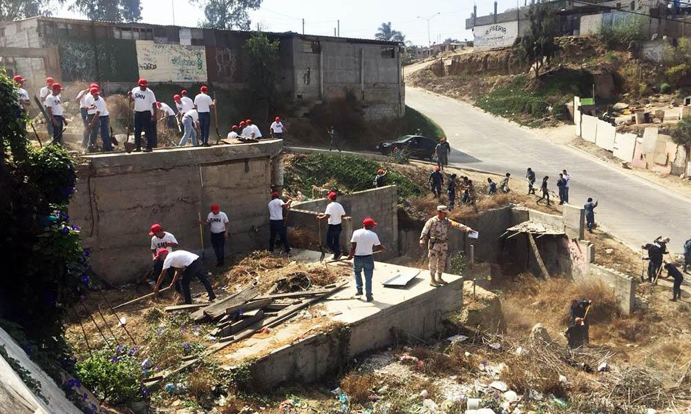 Continúan con trabajos de acercamiento con la comunidad para crear espacios seguros en Tijuana