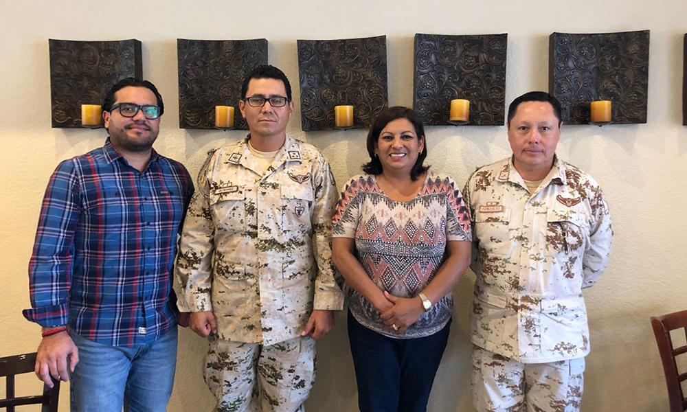 Coordinan esfuerzos Gobierno Municipal de Tecate y SEDENA en materia de seguridad