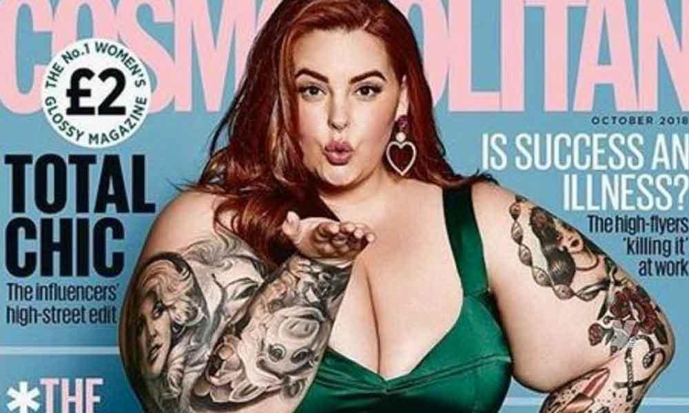 """Conductor de televisión critica a modelo de tallas grandes por aparecer en la portada de """"Cosmopolitan"""""""